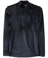 VENOM® / ヴェノム - VELVET STRIPE TURTLE NECK (GAS)<img class='new_mark_img2' src='//img.shop-pro.jp/img/new/icons55.gif' style='border:none;display:inline;margin:0px;padding:0px;width:auto;' />