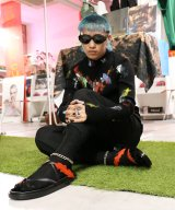 LINDER / リンダー - FORESTER SANDAL (BLACK/RED) 50%OFF<img class='new_mark_img2' src='//img.shop-pro.jp/img/new/icons16.gif' style='border:none;display:inline;margin:0px;padding:0px;width:auto;' />