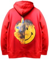 MADD LOUNGE / マッドラウンジ - TWO FACE INSIDE TWO FACE HOODIE (RED)