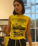 CORMIO / コルミオ - CORSET T-SHIRT (YELLOW)<img class='new_mark_img2' src='https://img.shop-pro.jp/img/new/icons2.gif' style='border:none;display:inline;margin:0px;padding:0px;width:auto;' />