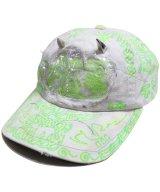 VENOM® / ヴェノム - MORAL PANIC TWILL ADJUSTABLE CAP (GREY/NEON)