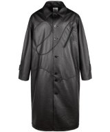 NUTEMPEROR / ナットエンペラー × ALL Club - PU LEATHER COAT (BLACK)<img class='new_mark_img2' src='https://img.shop-pro.jp/img/new/icons55.gif' style='border:none;display:inline;margin:0px;padding:0px;width:auto;' />