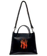 FLORIST NYC / フローリスト - PYRAMID SHOULDER BAG (BLACK)