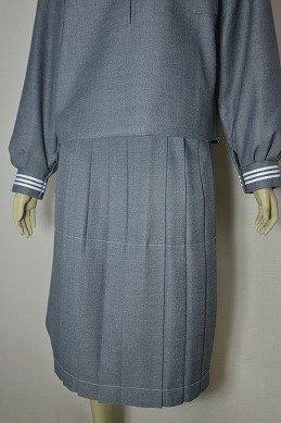 グレープリーツスカート