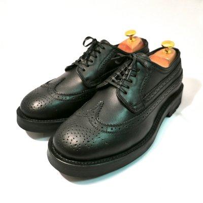 mythography �ʥߥ�����ե�����Long Wingtip Shoes Black