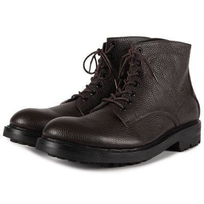 mythography �ʥߥ�����ե�����Short Lace Up Boot Dark Brown