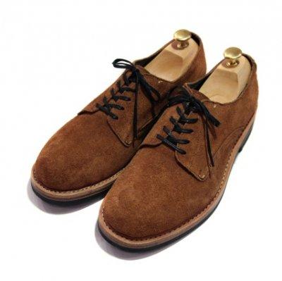 mythography �ʥߥ�����ե�����Plain Toe Suede Shoes Brown