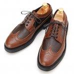 mythography �ʥߥ�����ե�����Long Wingtip Shoes Dark Brown