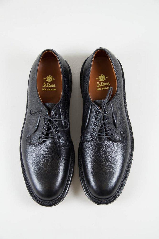 alden for the bureau belfast black regina grain plain toe. Black Bedroom Furniture Sets. Home Design Ideas