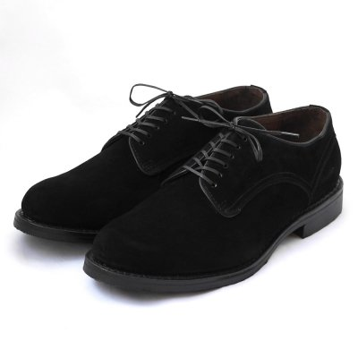 mythography �ʥߥ�����ե�����Piping Suede Plain Toe Shoes Black