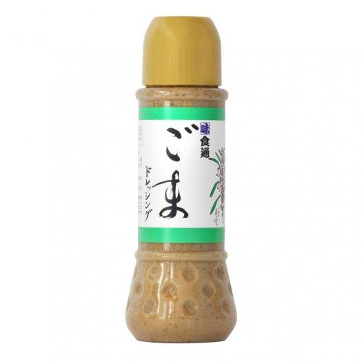ごまドレッシング(大)有機栽培認証ゴマ100% 香り高いほだか村手作りドレッシング【無添加・常温】 390ml
