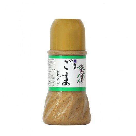 ごまドレッシング(小)有機栽培認証ゴマ100% 香り高いほだか村手作りドレッシング【無添加・常温】 230ml