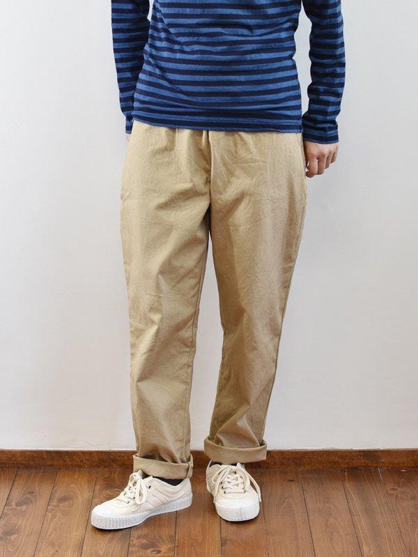 【予約受付】seasew. コットンキャンバスワッシャーワンポケットパンツ(95)