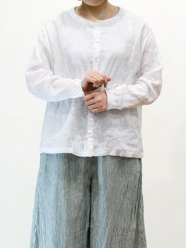 seasew. ソフトリネンノーカラーワイドシャツ_1