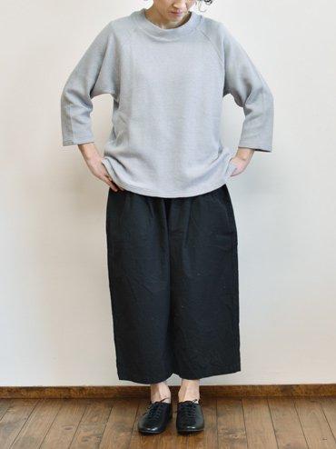 【予約受付】seasew. ハーフリブニットラグランスリーブプルオーバー_1