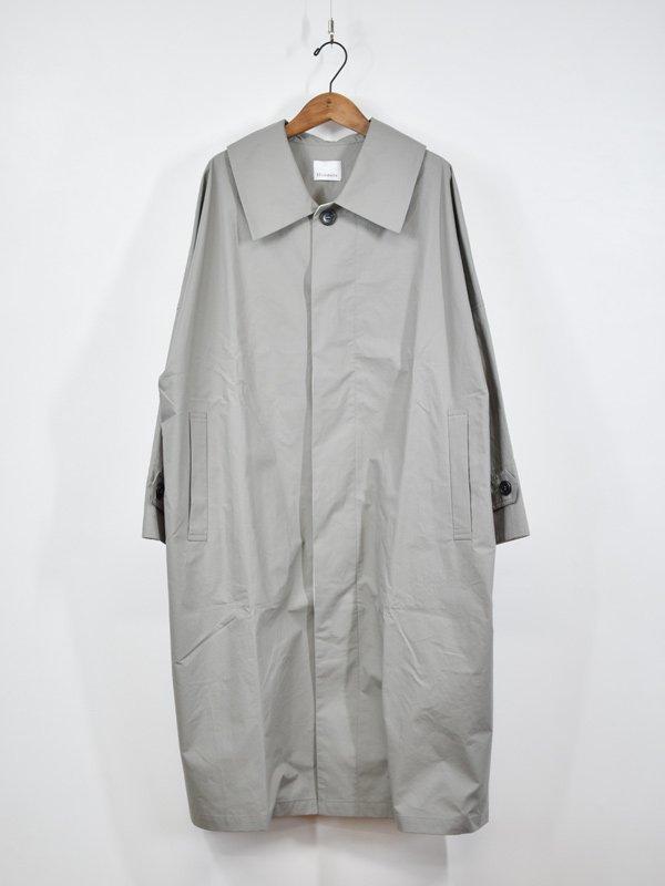 Honnete New Round Coallar Coat