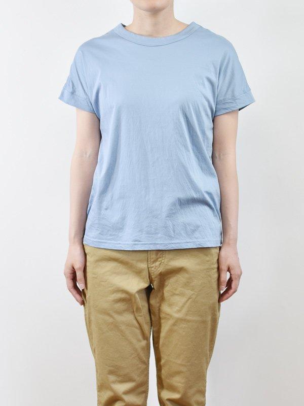 seasew. 100/1スーピマコンパクトコットンドルマンスリーブTシャツ
