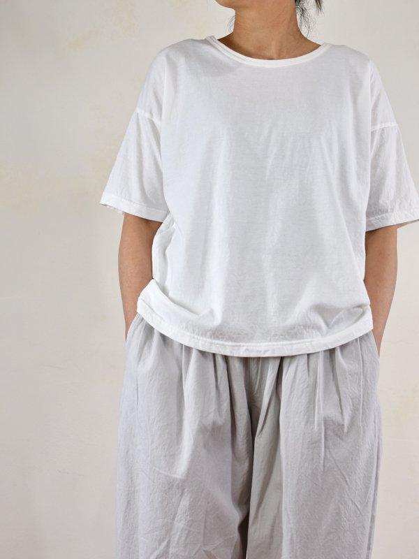 30コーマ天竺リラックスボックスTシャツ