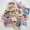 <アメリカ買付品> タップリ50枚入っています♪ アメリカの使用済み切手