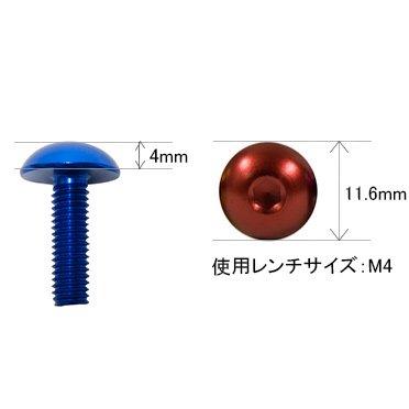 DBFB520 M5ボタンボルト 2本セット M5(20mm) その2