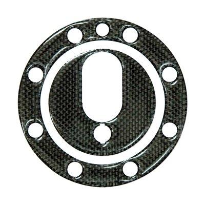 DCT09 カーボンタンクキャップカバー Buell 8穴用(Key付)