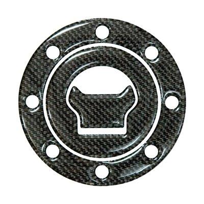 DCT33 カーボンタンクキャップカバー SUZUKI / HYOSUNG 8穴用
