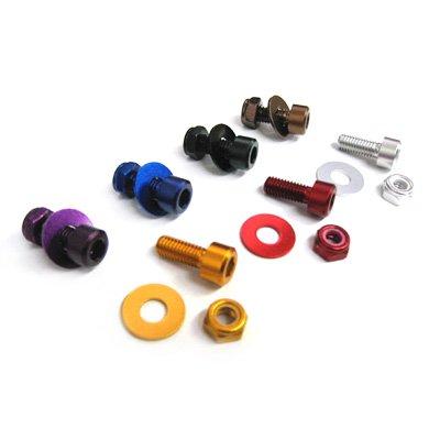 DBN010 ナンバープレートボルト キャップボルト(2本セット)