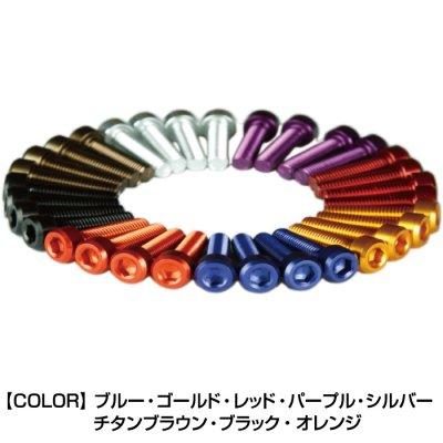 DBT001/3 タンクキャップ・ボルトKIT HONDA 7本用