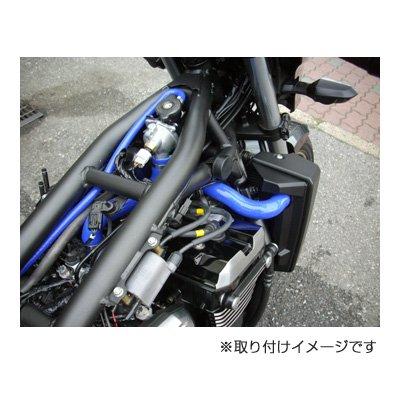 DSH210B シリコンラジエターホースキット ブルー / YAMAHA YZ250F('07-'08) 用 その3