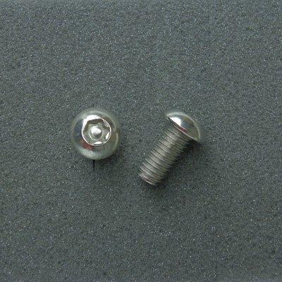 DBX8016 TRXボルト ボタンタイプ(2本入) M8x16mm ピッチ1.25mm/304ステンレス