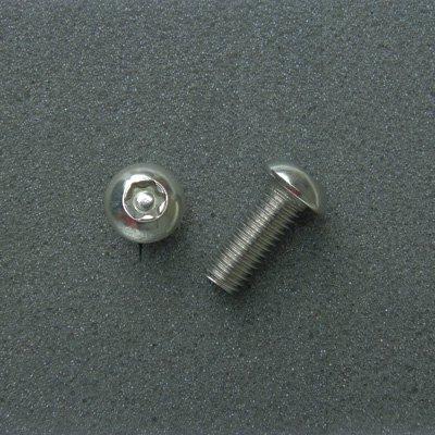 DBX8020 TRXボルト ボタンタイプ(2本入) M8x20mm ピッチ1.25mm/304ステンレス