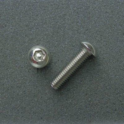 DBX8030 TRXボルト ボタンタイプ(2本入) M8x30mm ピッチ1.25mm/304ステンレス