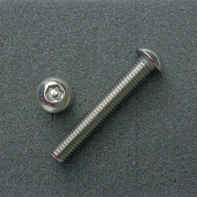 DBX8050 TRXボルト ボタンタイプ(2本入) M8x50mm ピッチ1.25mm/304ステンレス