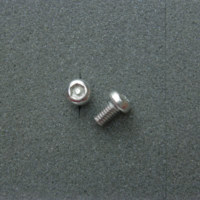 DBX6010 TRXボルト ボタンタイプ(2本入) M6x10mm ピッチ1.0mm/304ステンレス