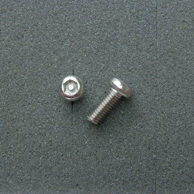 DBX6016 TRXボルト ボタンタイプ(2本入) M6x16mm ピッチ1.0mm/304ステンレス