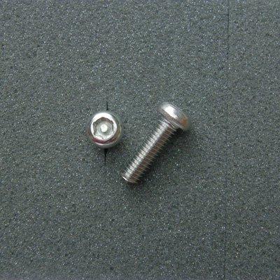 DBX6020 TRXボルト ボタンタイプ(2本入) M6x20mm ピッチ1.0mm/304ステンレス