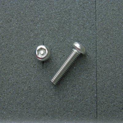 DBX6025 TRXボルト ボタンタイプ(2本入) M6x25mm ピッチ1.0mm/304ステンレス