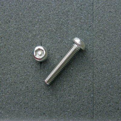 DBX6030 TRXボルト ボタンタイプ(2本入) M6x30mm ピッチ1.0mm/304ステンレス