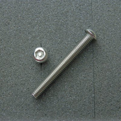 DBX6050 TRXボルト ボタンタイプ(2本入) M6x50mm ピッチ1.0mm/304ステンレス