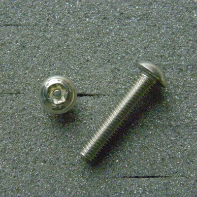 DBX5025 TRXボルト ボタンタイプ(2本入) M5x25mm ピッチ0.8mm/304ステンレス