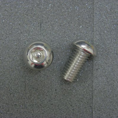 DBX1020 TRXボルト ボタンタイプ(2本入) M10x20mm ピッチ1.5mm/304ステンレス