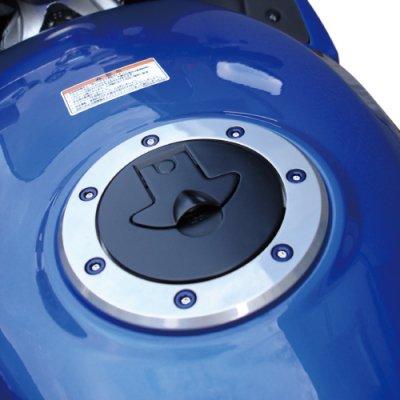 タンクキャップクリスタルボルト HONDA 7穴用(〜'01まで対応) その2