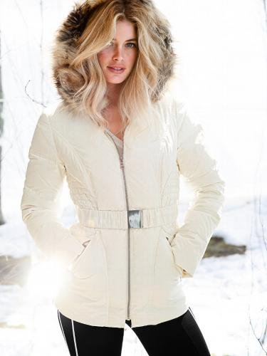Victoria's Secret ヴィクトリアズ・シークレット The Angel Puffer white
