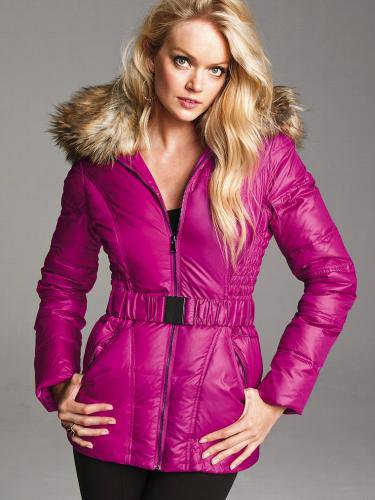 Victoria's Secret ヴィクトリアズ・シークレット The Angel Puffer pink Thrill