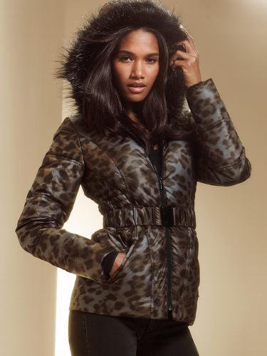 Victoria's Secret ヴィクトリアズ・シークレット The Angel Puffer Metallic Leopard