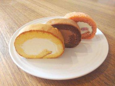 米粉と豆乳のロールケーキ3種入り