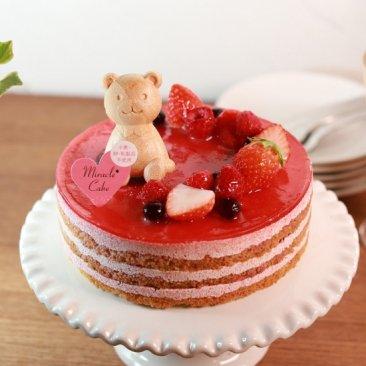 ミラクル*ケーキ  -ヴァンヌフ-2021年1月中旬〜発送