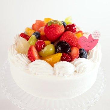 【5号】【フルーツ】ミラクル*ホワイト