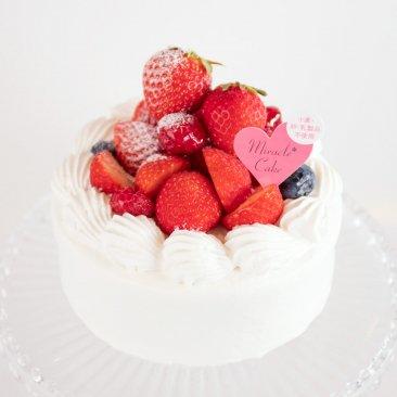 【4号】【苺】ミラクル*ホワイト