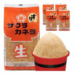 麦みそ(すり)1kg x 5袋